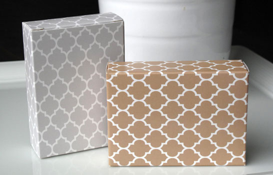 Quick Patterned Boxes