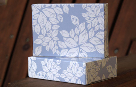 Boxes with your own pattern